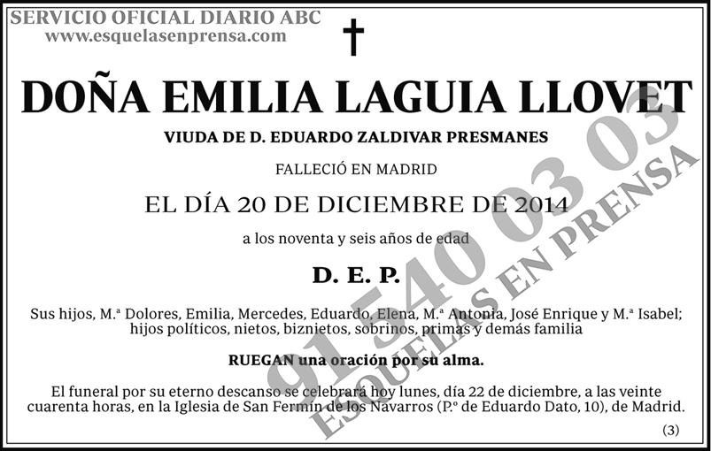 Emilia Laguia Llovet